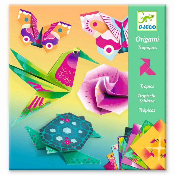 Djeco Bastelset Origami Tropics | Origami für Kinder bei Das bunte Chamäleon in Bamberg und online