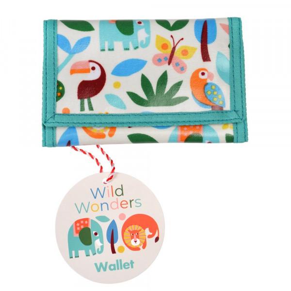 Rex London Kinder-Geldbeutel Wildtiere | Geschenke für Kinder bei Das bunte Chamäleon in Bamberg und online