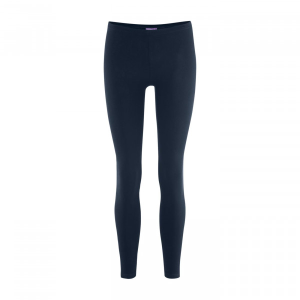 Living Crafts Damen Leggings Annedore lang, navy