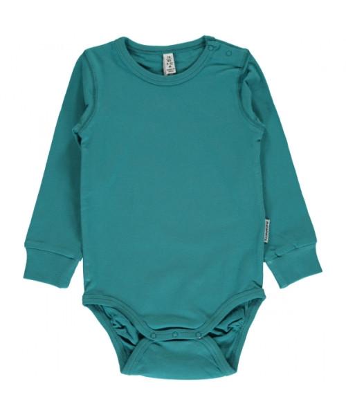 Maxomorra Body soft petrol   Bio-Kinderkleidung von Maxomorra bei Das bunte Chamäleon online kaufen
