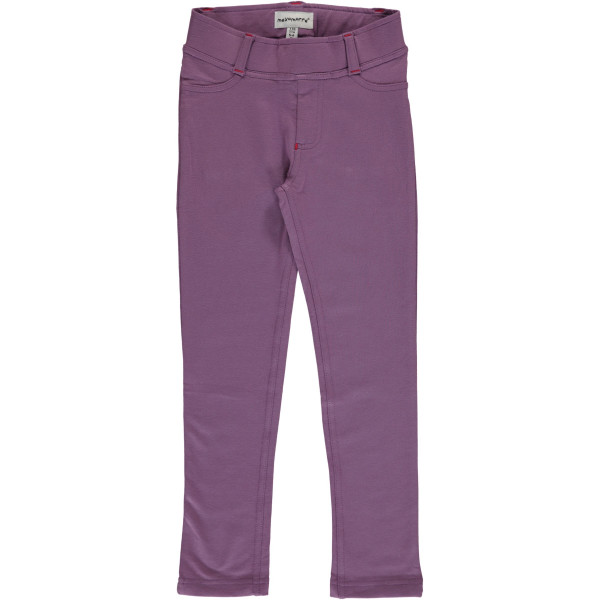 Maxomorra Sweatpants Dusty Purple | Bio Kinderkleidung bei Das bunte Chamäleon in Bamberg und online