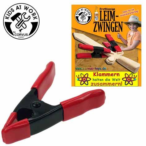 Corvus Leimzwingen | Kinderwerkzeug von Corvus bei Das bunte Chamäleon in Bamberg und online