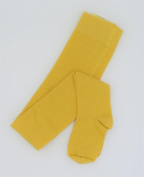 Grödo Kinderstrumpfhose maisgelb | Kinderstrumpfhosen aus Bio-Baumwolle bei Das bunte Chamäleon in Bamberg und online