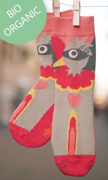 Frl. Prusselise Kindersocken Paradiesvogel | Bunte Socken bei Das bunte Chamäleon in Bamberg und online