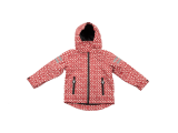 Ducksday Regenjacke, Kid`s Rain Jacket, Funky Red