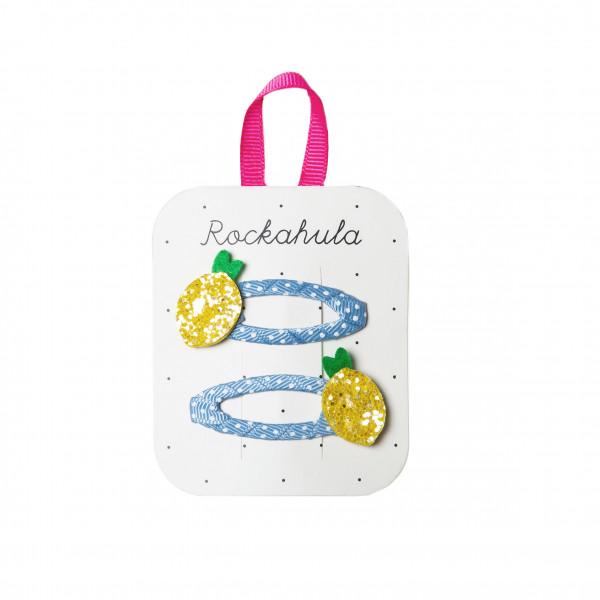 Rockahula Kids Haarklammern Zitrone | Kinderhaarschmuck bei Das bunte Chamäleon in Bamberg und online