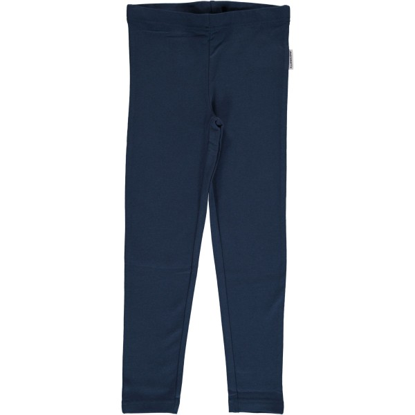 Leggings dark blue von Maxomorra; Kinderkleidung von Maxomorra online