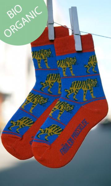 Frl. Prusselise Kindersocken Tiger   Bunte Socken bei Das bunte Chamäleon in Bamberg und online