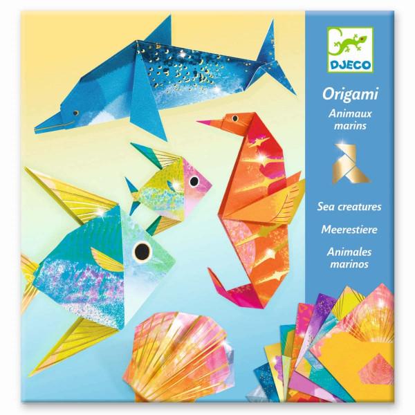 Djeco Bastelset Origami Meerestiere | Origami für Kinder bei Das bunte Chamäleon in Bamberg und online