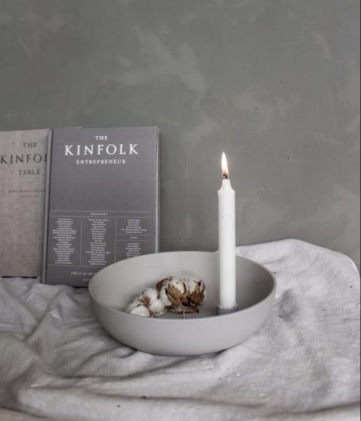 Storefactory Kerzenhalter Lidatorp groß, hellgrau | Skandinavisches Design bei Das bunte Chamäleon