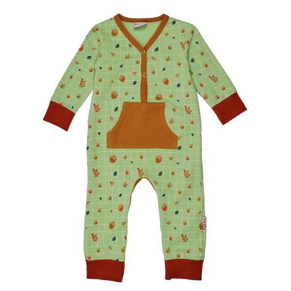 Baba Babywear Overall mint | Bio-Kinderkleidung von Baba Babywear bei Das bunte Chamäleon in Bamberg und online