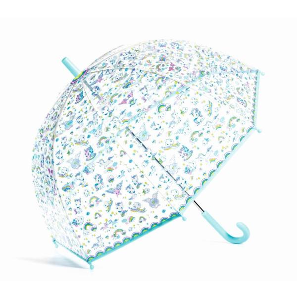 Djeco Kinderregenschirm Einhorn | Regenschirme bei Das bunte Chamäleon in Bamberg und onlien