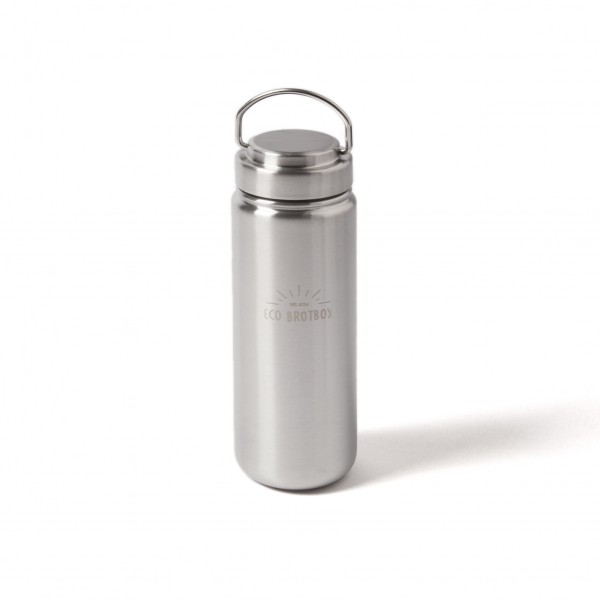 Eco Trinkflasche aus Edelstahl 800 ml