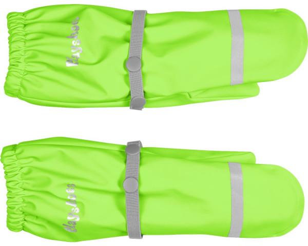 Playshoes Matschhandschuhe Fleecefutter Neongrün | Kinder-Outdoorkleidung bei Das bunte Chamäleon in Bamberg und online