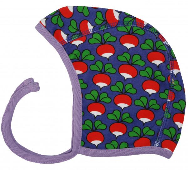 DUNS Babymütze Radish Purple | Bio-Kinderkleidung von DUNS Sweden bei Das bunte Chamäleon online kaufen