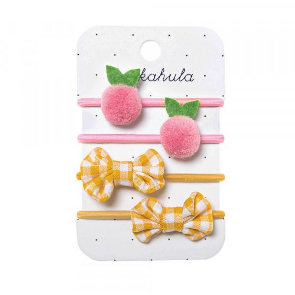 Rockahula Kids Haargummis rosa Früchtchen | Haarschmuck für Kinder bei Das bunte Chamäleon in Bamberg und online kaufen