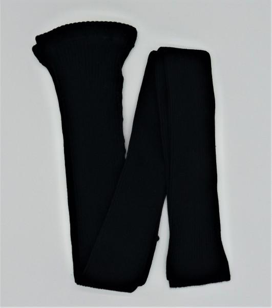 Grödo Bio Damen Ripp-Leggings, schwarz