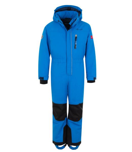 Trollkids Schneeanzug Isfjord med blue | Kinder-Outdoorkleidung bei Das bunte Chamäleon in Bamberg und online