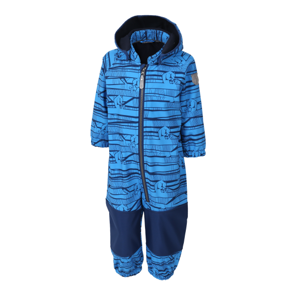 Color Kids Softshellanzug Kajo, blau