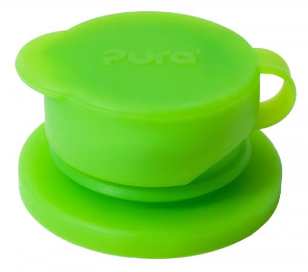 Pura BigMouth Sport-Trinkverschluss aus Silikon, grün