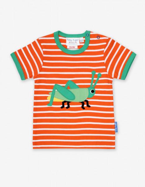 Toby Tiger T-Shirt Grashüpfer   Bio-Kinderkleidung von Toby Tiger bei Das bunte Chamäleon in Bamberg und online kaufen