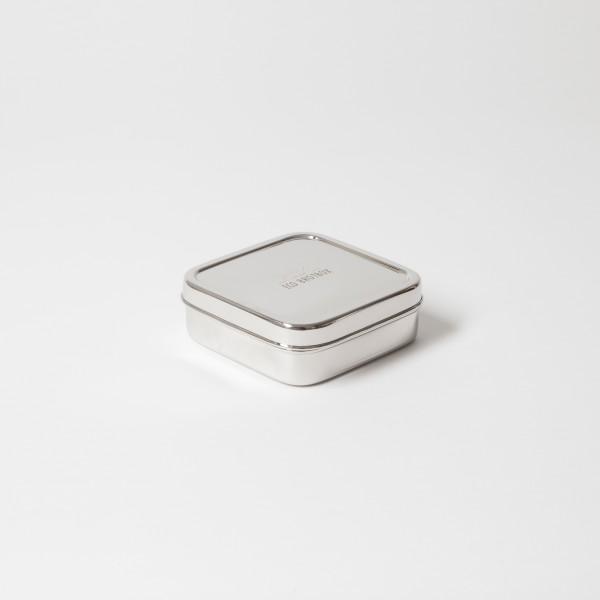 ECO Brotbox Edelstahl-Brotbox Classic, quadratisch