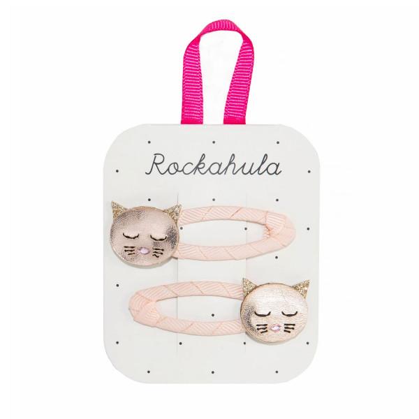 Rockahula Kids Haarklammern Katze | Kinderhaarschmuck bei Das bunte Chamäleon in Bamberg und online