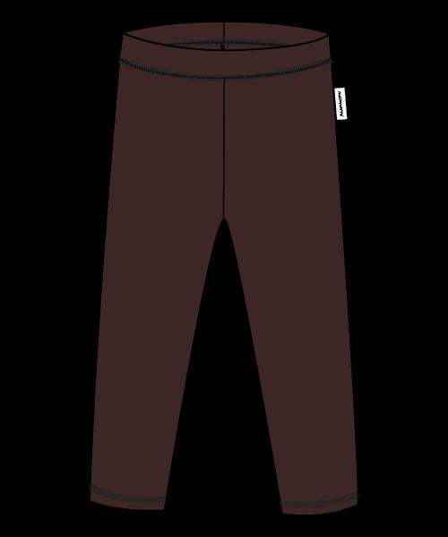 Maxomorra Sweat-Leggings, dark brown