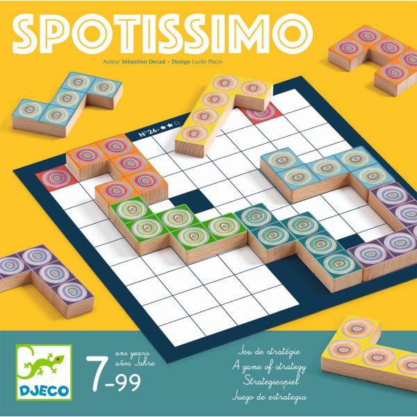 Djeco Logikspiel Spotissimo | Spielzeug für Kinder bei Das bunte Chamäleon in Bamberg und online