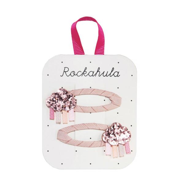 Rockahula Kids Haarklammern Wolke, rosa | Kinderhaarschmuck bei Das bunte Chamäleon in Bamberg und online