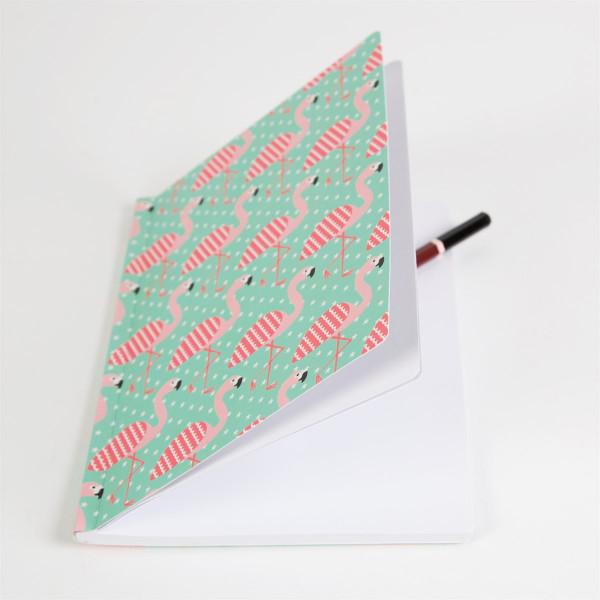 Notizbuch Flamingos | Besondere Kindersachen bei Das bunte Chamäleon in Bamberg und online