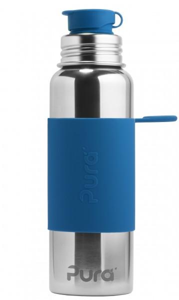 Pura Sportflasche 800 ml aus Edelstahl