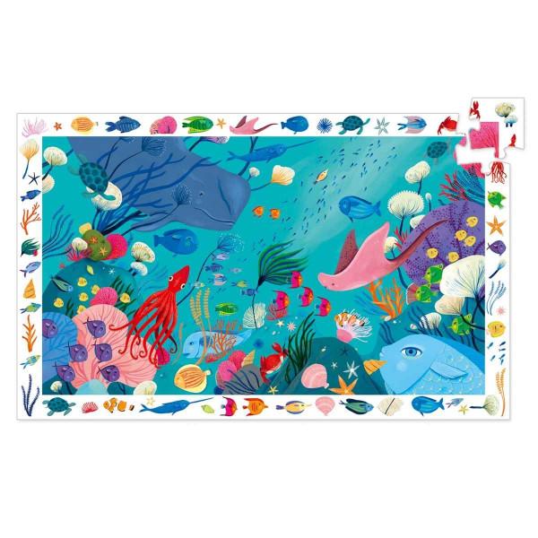 Djeco Wimmelpuzzle Das Meer | Spielzeug für Kinder bei Das bunte Chamäleon in Bamberg und online