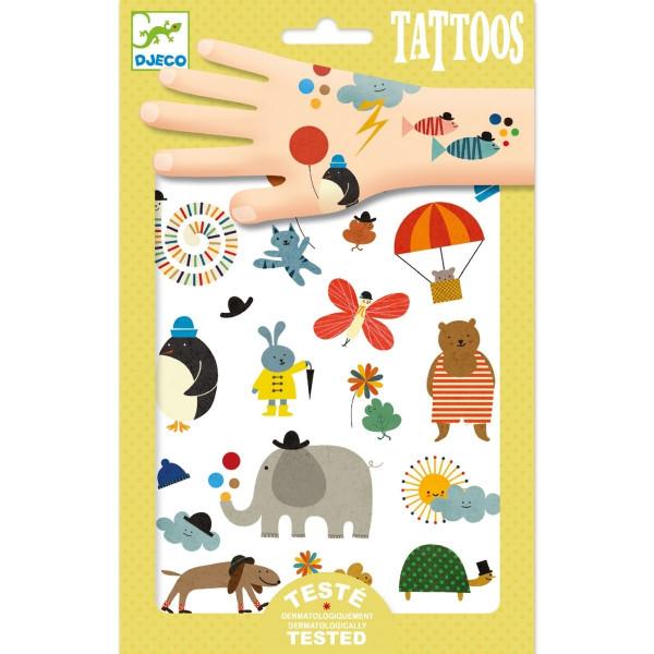 Djeco Tattoos Süße Kleinigkeiten | Tattoos für Kinder bei Das bunte Chamäleon in Bamberg und online