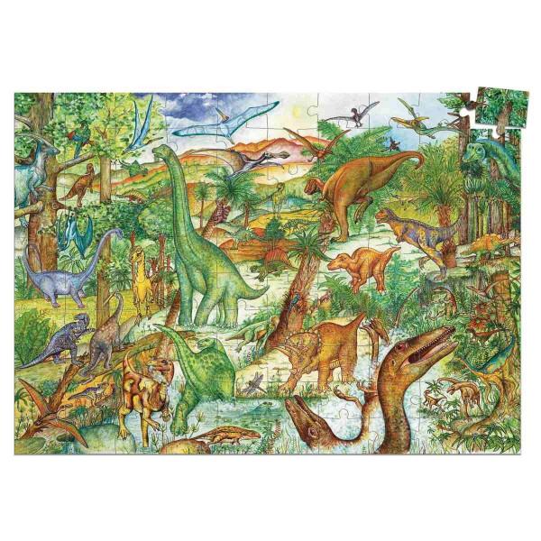 Djeco Puzzle Dinosaurier | Spielzeug für Kinder bei Das bunte Chamäleon in Bamberg und online