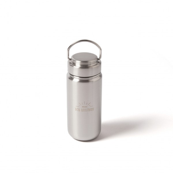 Eco Brotbox Trinkflasche aus Edelstahl, 500 ml