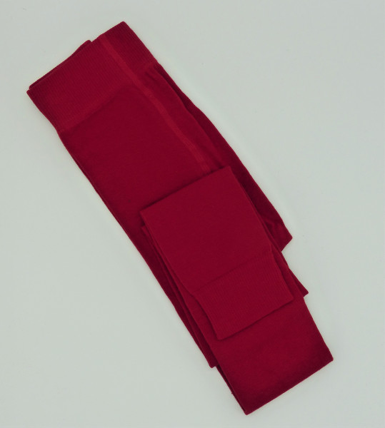Grödo Bio Kinder Strick-Leggings, rot