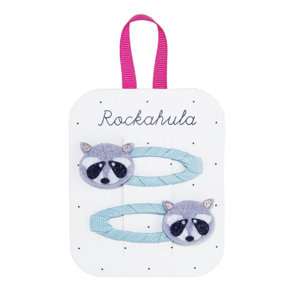 Rockahula Kids Haarklammern Waschbär | Kinderhaarschmuck bei Das bunte Chamäleon in Bamberg und online