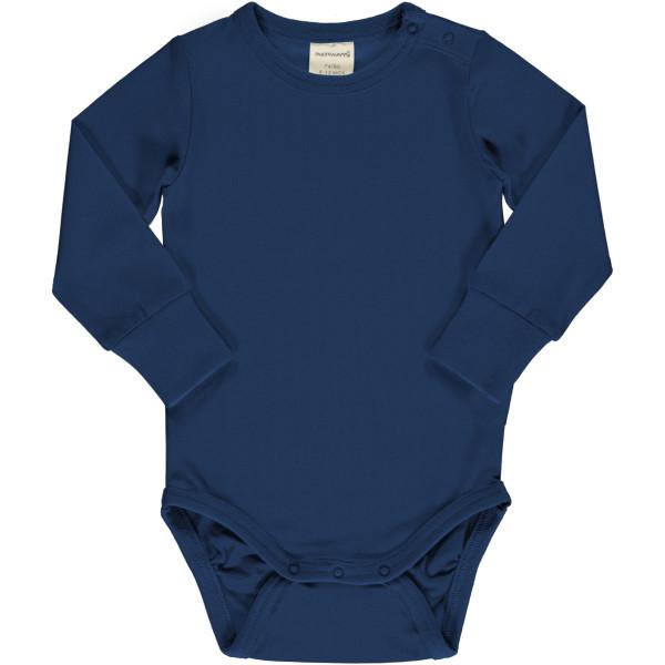 Maxomorra Body Langarm Navy | Bio-Kinderkleidung von Maxomorra bei Das bunte Chamäleon online kaufen