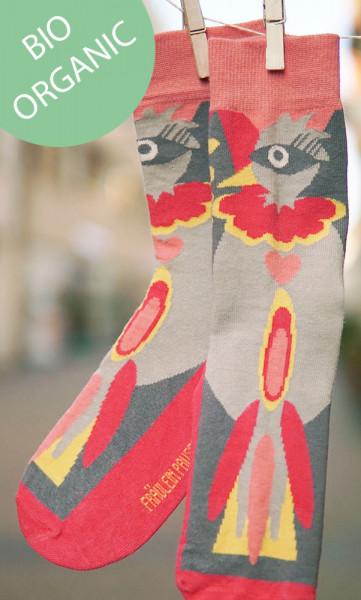 Frl. Prusselise Damensocken Paradiesvogel | Bunte Socken bei Das bunte Chamäleon in Bamberg und online