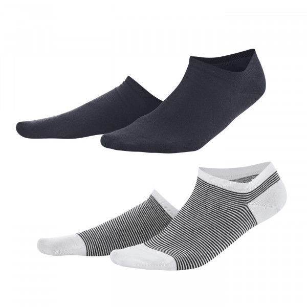 Living Crafts 2er Pack Damen-Sneakersocken, navy/weiß | Naturmode für Damen bei Das bunte Chamäleon in Bamberg und online kaufen