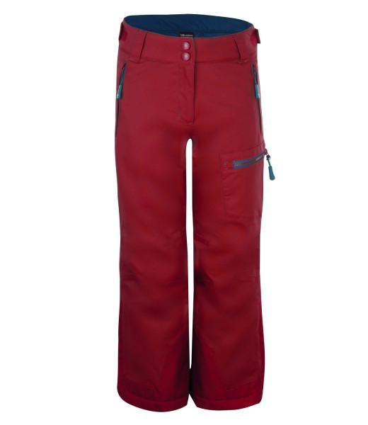 Trollkids Schnee- und Skihose Hallindal rusty red   Kinder-Outdoorkleidung bei Das bunte Chamäleon in Bamberg und online