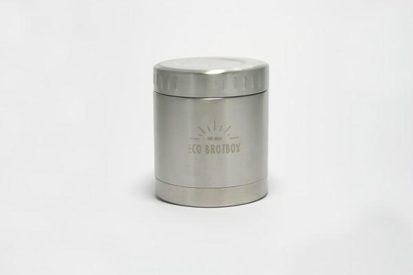 ECO Brotbox Isolierbehälter Li aus Edelstahl, dreilagig