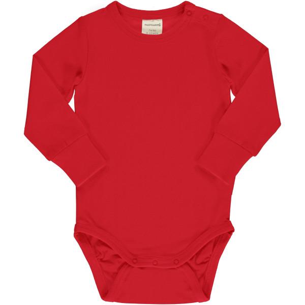 Maxomorra Body langarm, Ruby   Bio-Kinderkleidung von Maxomorra bei Das bunte Chamäleon online kaufen