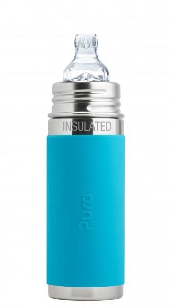 Pura kiki isolierte Trinklernflasche | Edelstahltrinkflaschen von Pura online