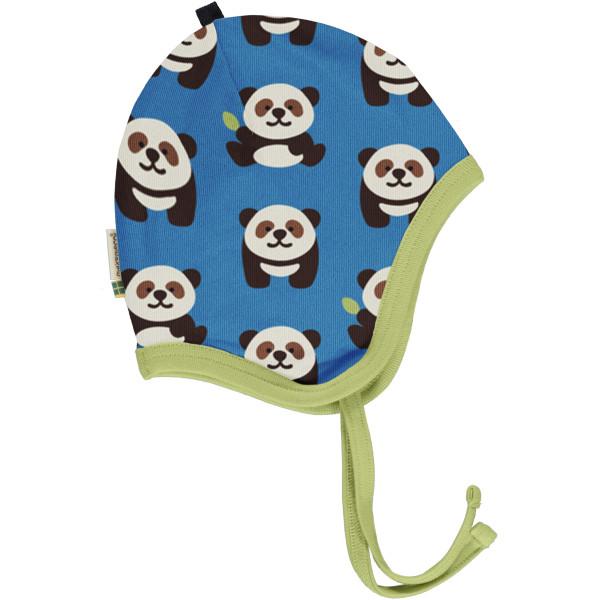 Maxomorra Babymütze Playful Panda | Bio Kinderkleidung bei Das bunte Chamäleon in Bamberg und online