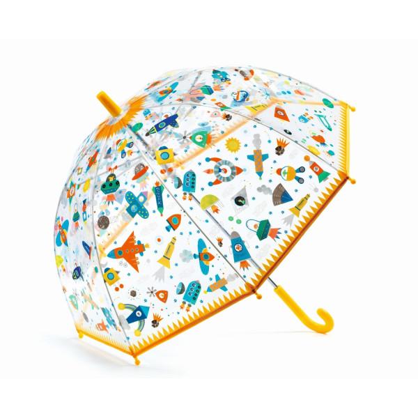 Djeco Kinderregenschirm Weltall| Regenschirme bei Das bunte Chamäleon in Bamberg und onlien