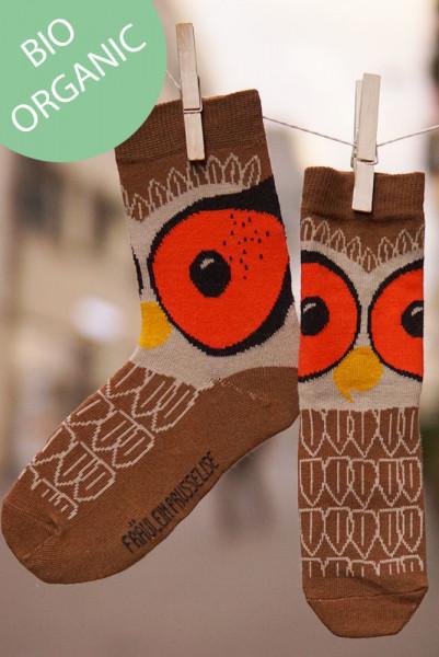 Frl. Prusselise Damensocken Eule | Bunte Socken bei Das bunte Chamäleon in Bamberg und online