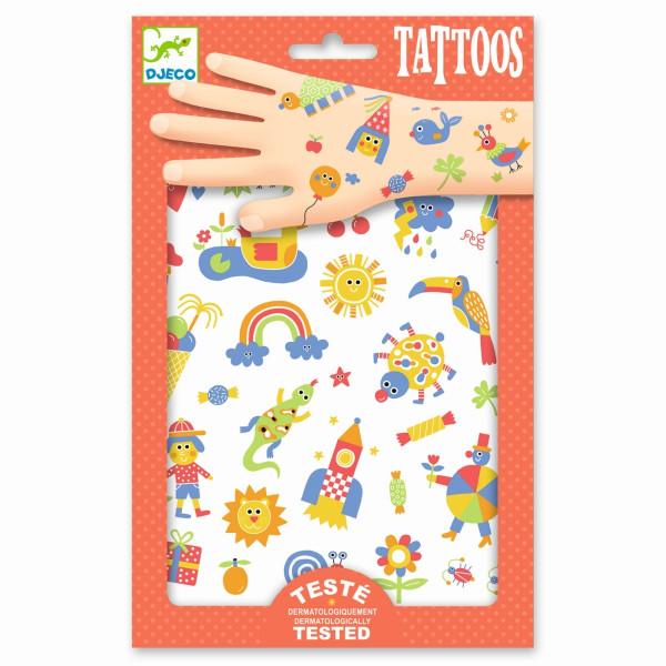 Djeco Tattoos So Cute | Basteln für Kinder bei Das bunte Chamäleon in Bamberg und online