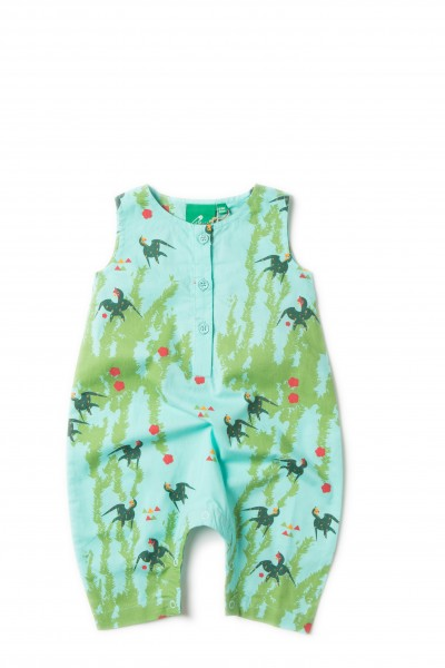 Little Green Radicals Playsuit Under The Willows, türkis
